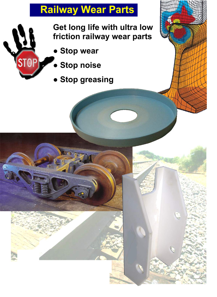 non-metallic-bearings-railways